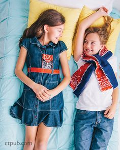 Judith Cressy –– What can you add to plain skirts, belts, or even pillows to make those items even cuter?Bandanas! You'll learn how to combine colors and mix patterns to create a look all your own. M