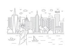 New York, New York by McGuire Design   Dribbble