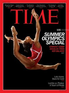 Behind the TIME Covers: Martin Schoeller's Portraits of the 2012 U.S. Olympians - - the beautiful and energetic USA Gymnast Gabby Douglas!!