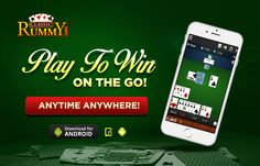 Play to Win on the Go! Play Rummy Online Anywhere Anytime only at Classicrummy.com  https://www.classicrummy.com/play-rummy-games-on-mobile?link_name=CR-12  #rummy #classicrummy #mobilerummy #mobilegames #rummyonline #playrummyonline #fun #onthego