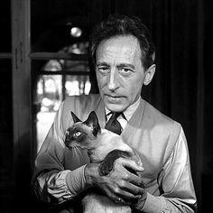 Jean Cocteau with Karoun