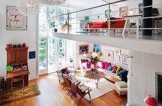 Scandinavian Style Homes   Nordic-Bliss-Scandinavian-style-Swedish-home-living-room-colourful