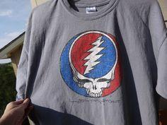 Grateful Dead T Shirt XL Steel Your Face 1997 Gildan T shirt 100%cotton Gdp inc