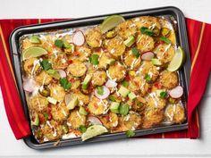 Get Zucchini Fry Nachos Recipe from Food Network