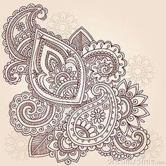 paisley tattoo designs - Google Search
