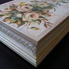 Krabička divé ruže 2 / Sonislavka - SAShE.sk - Handmade Krabičky