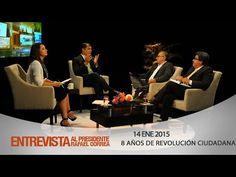 Diálogo con el Presidente Rafael Correa luego de 8 años de Revolución Ci...