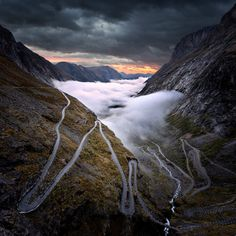Trollstigen , Norway . . by pascal Kiszon on 500px