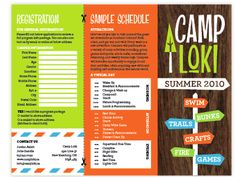 Camp Kesher kids brochure inside file | Aish Connections Marketing ...