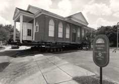 Fred Stone Theatre Moves to New Location by Rollins College, via Flickr