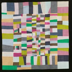 Korean Pojagi quilt - 2008 exhibition  - University of Nebraska Lincoln