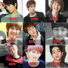 SHINee-Lee Jinki-Onew- Through out the 8 years...
