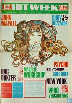 1968 Dutch Underground Magazine - Hitweek 42