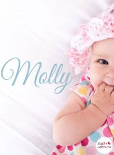 Looking for something short and sweet for your baby girl? Well, we've found the most GORGEOUS short baby girl names using only five letters or less. Do any of these tickle your fancy?