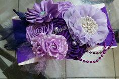 Tiara  lila y morado !!