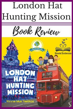 London Hat Hunting Mission: a new diverse children's book where dolls from Ghana, Hong Kong, Mumbai, and Oslo take a fascinating adventure around London. #kidlit #diversebooks #picturebooks #picturebooksaboutlondon