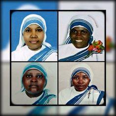 Sœur Anselm, d'origine indienne, Sœur Marguerite du Rwanda, Sœur Judith du Kenya et Sœur Reginette, originaire du Rwanda. Quatre Sœurs Missionnaires de la Charité, (Sœurs de Mère Teresa) à Aden, au Yémen ont été attaquées par un groupe d'hommes armés...