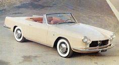 1963 ABARTH FIAT 2400 CONVERTIBLR - design by Giovanni Michelotti. Coachwork by Carrozzeria Allemano of Turin.