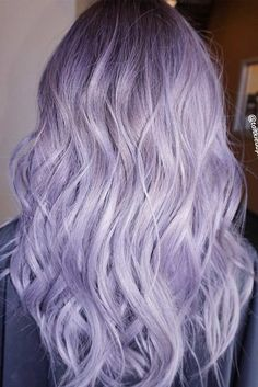 Lilac Silver Hair Hair Diddies Hair Hair Color Purple Hair Color within Attractive Pastel Lilac Hair 50 Cool Ideas of Lavender Ombre Hair and Purple Ombre Pink Ombre Pastel Purple Hair, Dyed Hair Pastel, Hair Color Purple, Purple Roses, Light Purple Hair Dye, Black Roses, Lilac Color, Purple Ombre, Rose Flowers