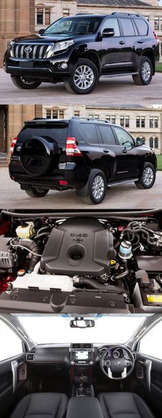 Nice Toyota 2017: 2016 #Toyota #LandCruiser #Prado 2.8L GXL Get more details at: www.enginefitted....  Cars & Vehicles