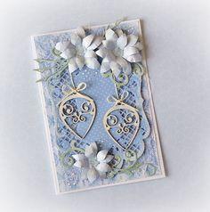 Christmas card , diy , handmade , paperpassionpl , yovimessingaround