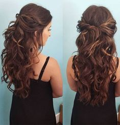 Long Curly Hairstyles for Teenage Girls 2018