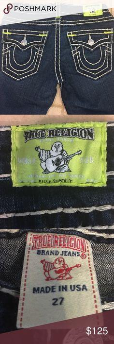 Selling this True Religion Billy Super T on Poshmark! My username is: runnerprincess. #shopmycloset #poshmark #fashion #shopping #style #forsale #True Religion #Denim