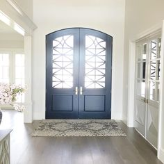 """Emily Jackson // Ivory Lane on Instagram: """"All of this natural light is everything I've dreamed of! #entry #frontdoor #home"""""""