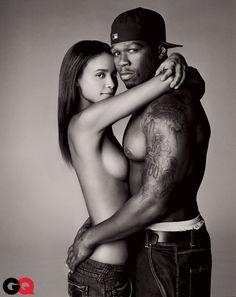 50 Cent and Joy Bryant