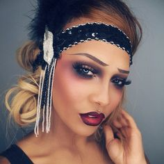 SONJDRA DELUXE @sonjdradeluxe #flapper inspired...Instagram photo | Websta (Webstagram)