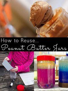Don't toss that empty peanut butter jar!