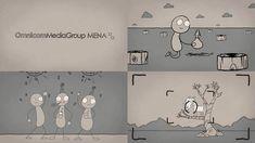 A fun job for Omnicom Media Group MENA Corporate Social Responsibility campaign.