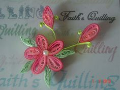 Faith's Quilling: Art of quilling, Paper craft, Quilled flowers