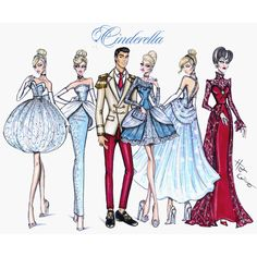 Hayden Williams Fashion Illustrations | On this day in 1950, Cinderella was released