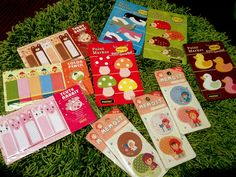 My #Sticky notes. Point Marker collection. #filofax supplies and goodies //