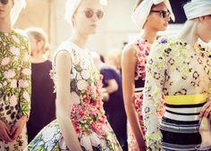 Giambattista Valli Haute Couture  Fall 2014-15    Backstage
