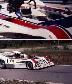 Jackie Stewart, Lola T260 Chev, Road America 1971 (Jim Buell)...