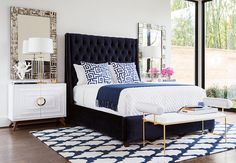 Out of the Blue - Bedroom - Room Ideas