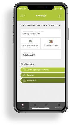 Lindenhof - Das Jugendparadies | MOREMEDIA® Interface Design, Der Bus, User Experience Design, Calculator, App Design, Advertising Agency, Teachers, User Interface Design, Application Design