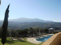 Castello di Velona : view to the south