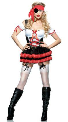 Disfraz de sexy pirata