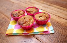 Recept: Appel-kaneelmuffin met dadels - How about healthy?