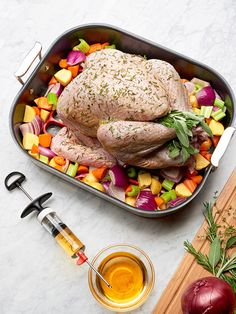 Make your Thanksgiving turkey even more juicy and delicious by injecting your marinade or brine straight into the bird with our best homemade seasoning injection recipes.