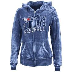 MLB Majestic Toronto Blue Jays Women's Home Run Honey Full-Zip Hoodie