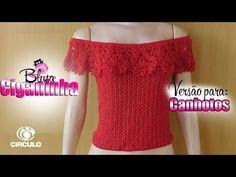 Blusa Ciganinha Fashion (Tam.: PP/P/M/G/GG) - YouTube