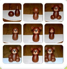Teddy bear fondant tutorial