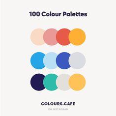100 Colour Palettes @colours.cafe . #colors #color #colours #colour #palette #colorscheme #colourscheme #ui #colorful #colourscafe…