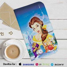 Beauty and The Beast Disney Leather Wallet iPhone 4/4S 5S/C 6/6S Plus 7  Samsung Galaxy S4 S5 S6 S7 NOTE 3 4 5  LG G2 G3 G4  MOTOROLA MOTO X X2 NEXUS 6  SONY Z3 Z4 MINI  HTC ONE X M7 M8 M9 CASE