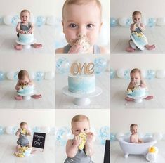 I love this cake and the entire set up! Love the silver sparkles and soft blue notes for this baby boy one year old cake smash! I love this cake and the entire set up! Love the silver sparkles and soft blue notes for this baby boy one year old cake smash! Simple First Birthday, Boys First Birthday Party Ideas, 1st Birthday Pictures, Baby Boy First Birthday, 1st Birthday Cakes For Boys, 1st Birthday Outfit Boy, Healthy Birthday Cakes, 1 Year Birthday, Happy Birthday
