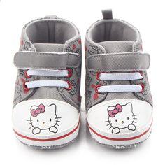 f25e1d70ab2 Baby prinsesse rosa sko til piger tegneserie halloween kitty lærred sneaker  første walker nyfødte støvler til